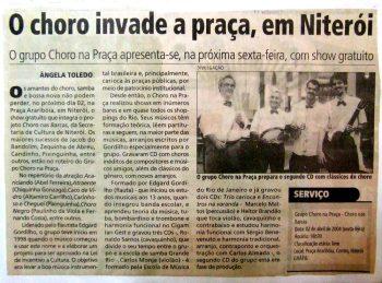 choro na praça em niterói na rua grátis prefeitura